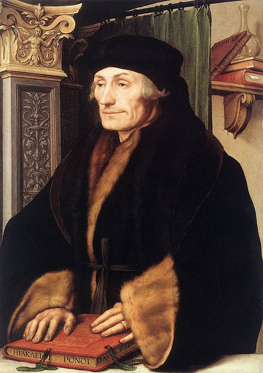 Portrait of Desiderius Erasmus of Rotterdam